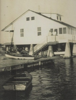 The original Key West Yacht Club circa 1940